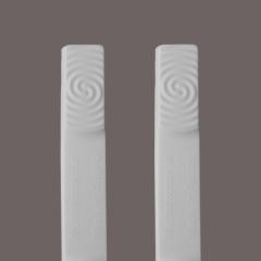 1 Paar elastische Multistopper® 27er WEISS