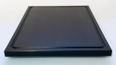 1xSchneidbrett Schwarz 50x30x2 cm.mit Saftrille Industriqualität