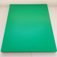 1x Schneidbrett50x30x4cm. aus Qualitätskunststoff Grün