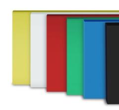 5x Schneidbretter aus Qualitätskunststoff 60x40x2 cm