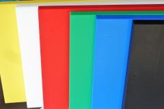 Schneidplatte für Arbeits- u. Zerlegetische  T 3 cm, 150x30x3 cm