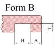 Hohlkehle einfräsen - Form B